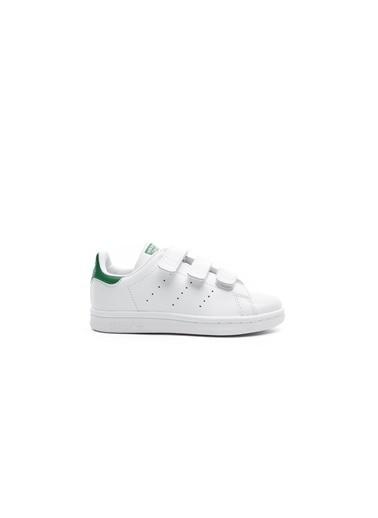 adidas Unisex Çocuk Stan Smith Sneakers M20607.Beyaz Beyaz